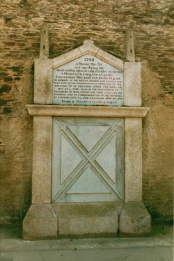 A Rebel Hand: 1798 monument, Carnew Co Wicklow commemorates the massacre in 1798